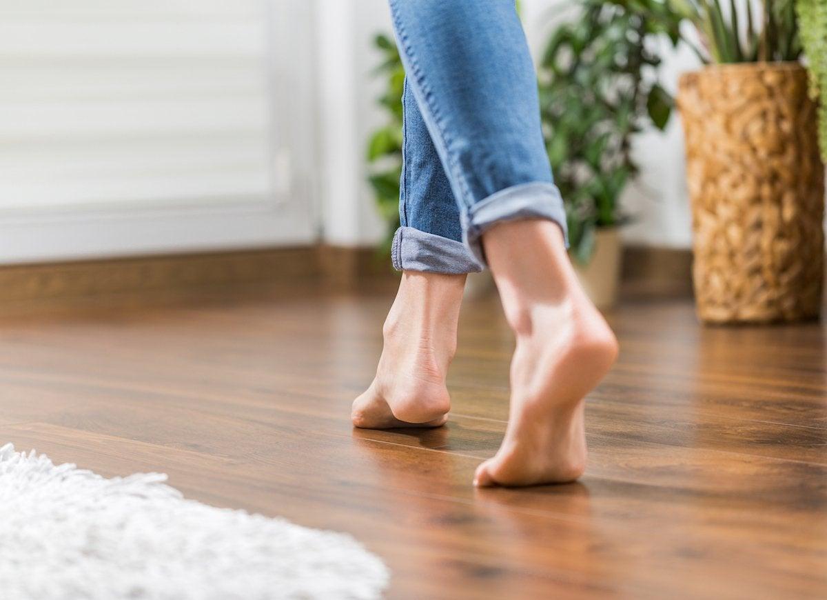 Sloping floor