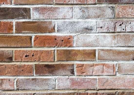 White Stuff On Brick