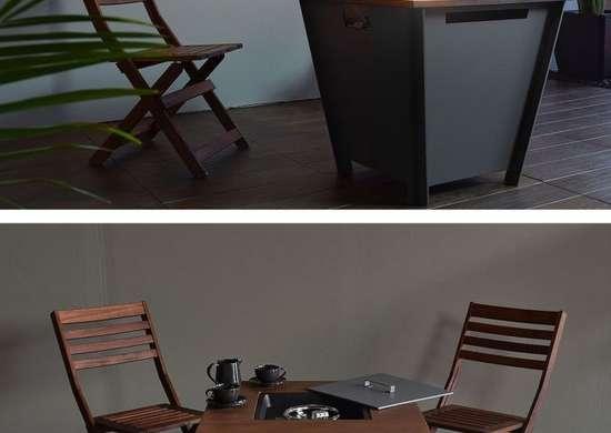 Propane Fire Table