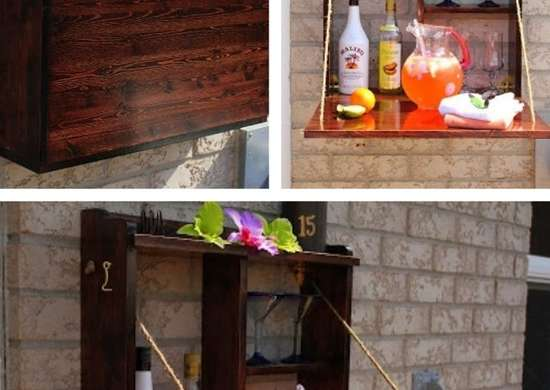 DIY Outdoor Bar Plans