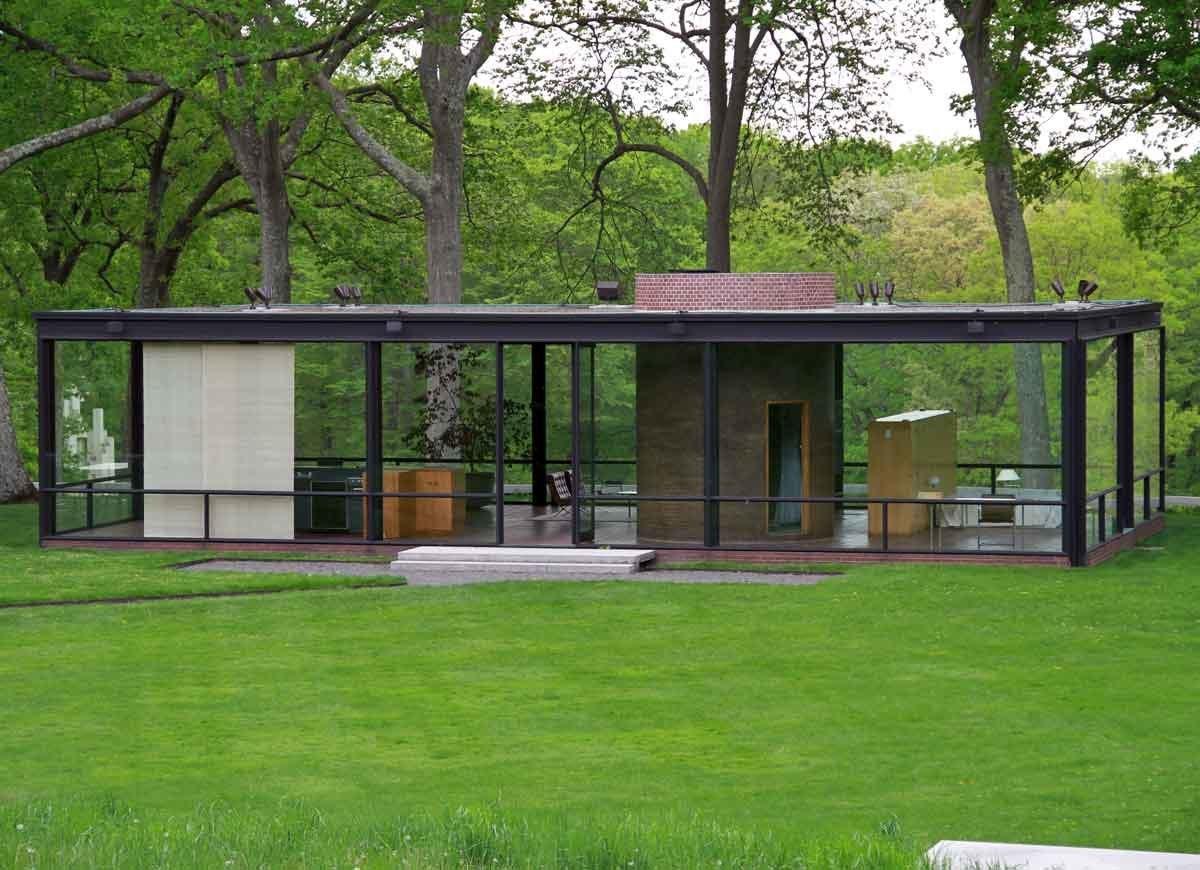 Philip Johnson S Gl House