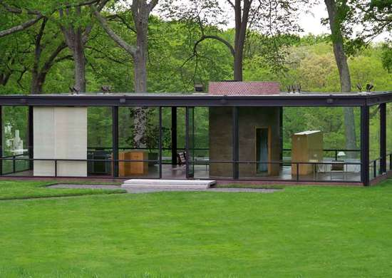 Rent Philip Johnson's Glass House