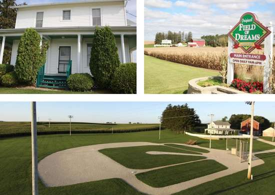 "Rent the ""Field of Dreams"" Movie House"