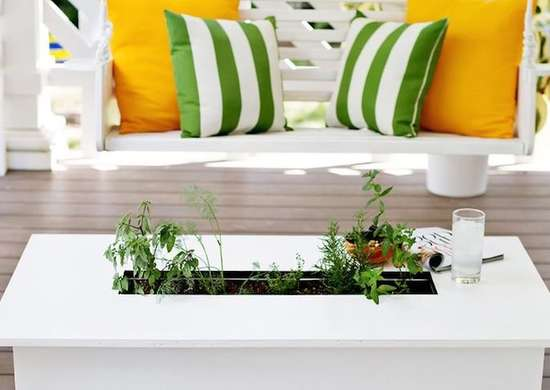 DIY Outdoor Herb Garden
