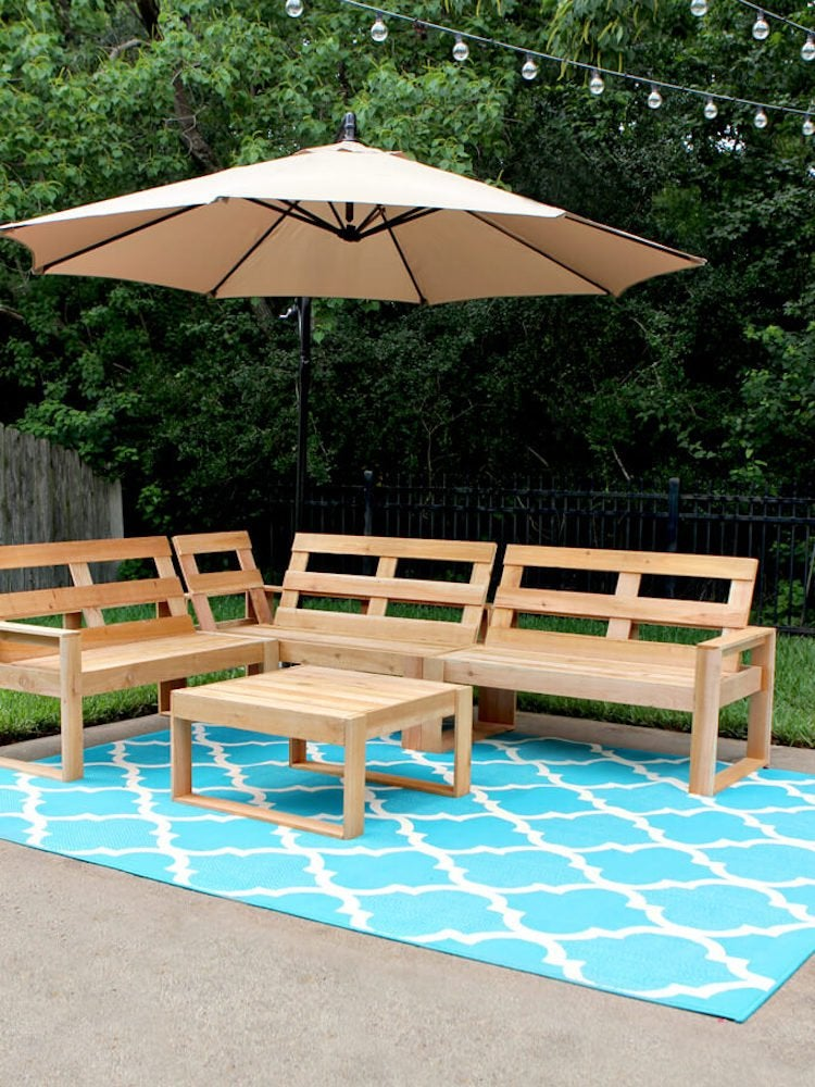 Diy Outdoor Furniture 10 Easy