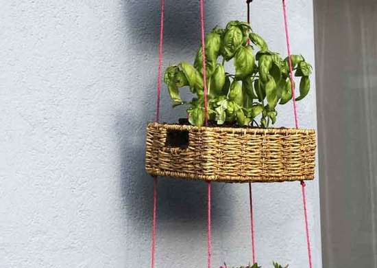 DIY Hanging Basket Planter