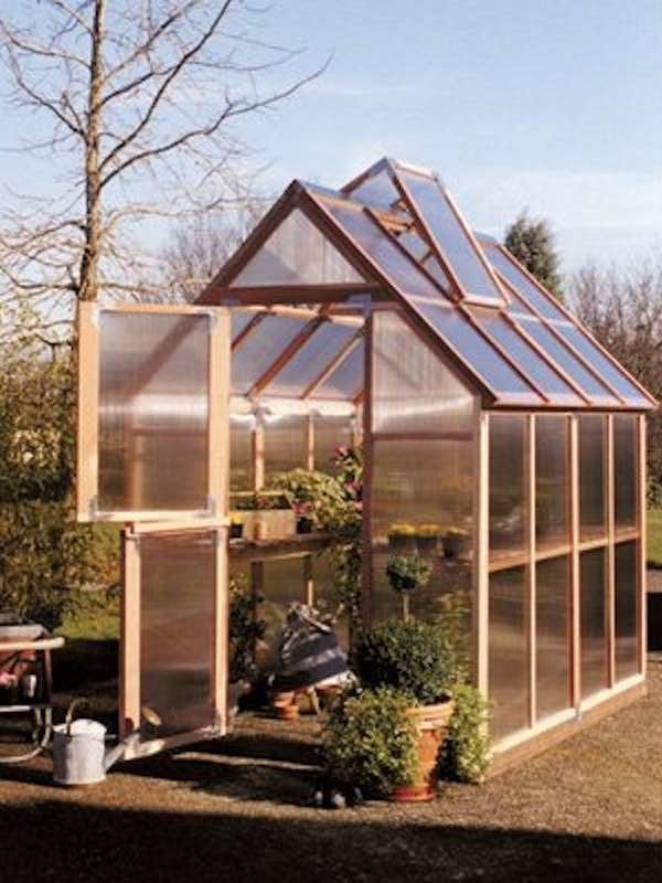 38+Cedar Greenhouse Kit