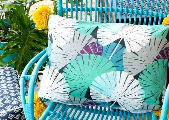 DIY Patio Pillows