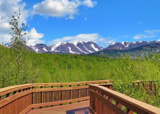 Alaska: Potter Marsh