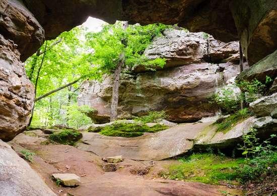 Arkansas: Petit Jean State Park