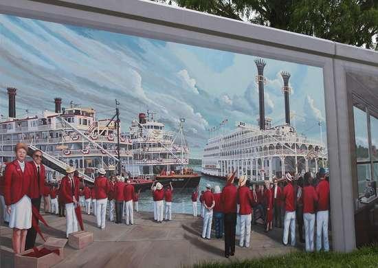 Kentucky: Floodwall Murals