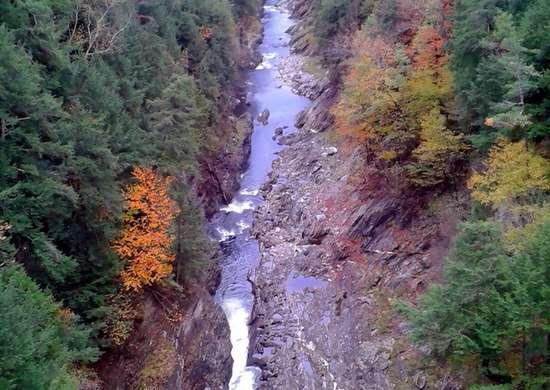 Vermont: Quechee Gorge