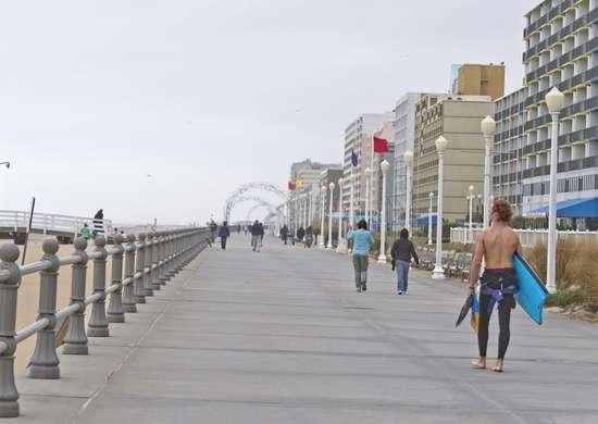 Virginia: Virginia Beach Boardwalk