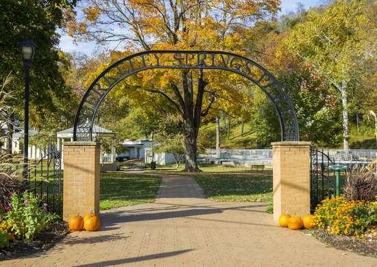 West Virginia: Berkeley Springs State Park