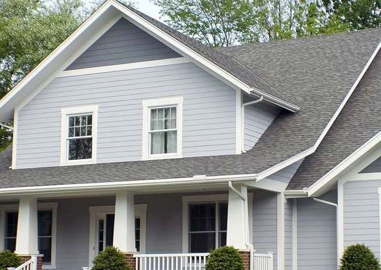Home exterior color combinations 15 paint colors for your house bob vila for Blue grey exterior house paint