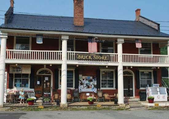 The Brick Store in Bath, New Hampshire