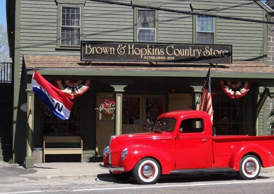 Brown & Hopkins Country Store in Chepachet, Rhode Island