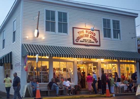 Floyd Country Store in Floyd, Virginia