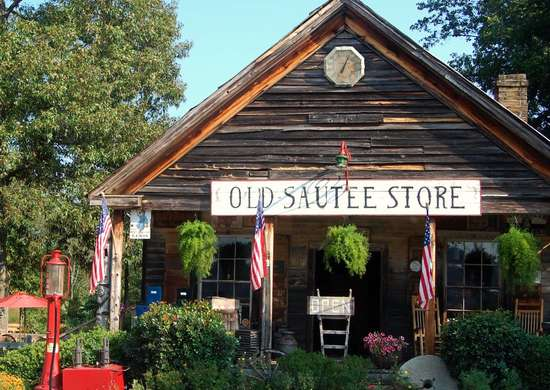 Old Sautee Store in Sautee Nacoochee, Georgia