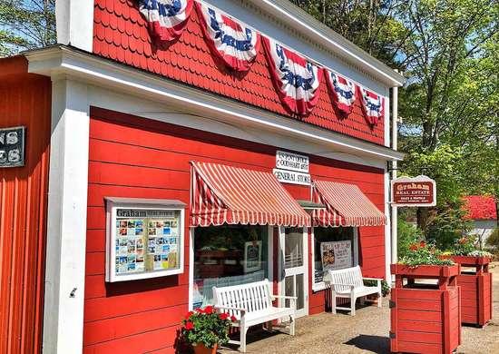 Good Hart General Store in Good Hart, Michigan