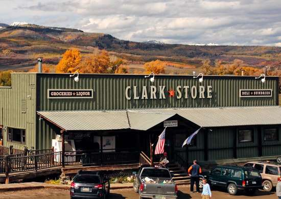 The Clark Store in Clark, Colorado