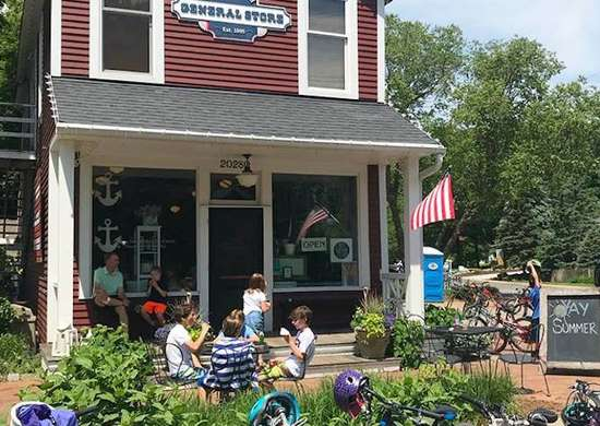 Cottagewood General Store in Deephaven, Minnesota