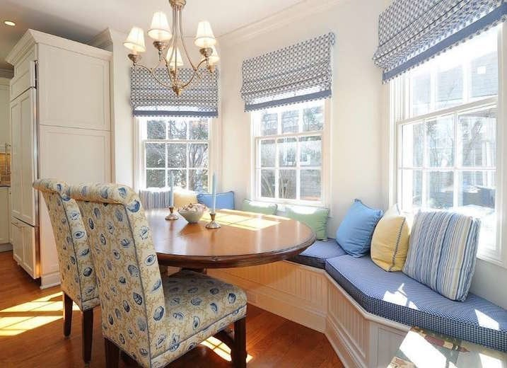 Breakfast Nook with Lots of Seating