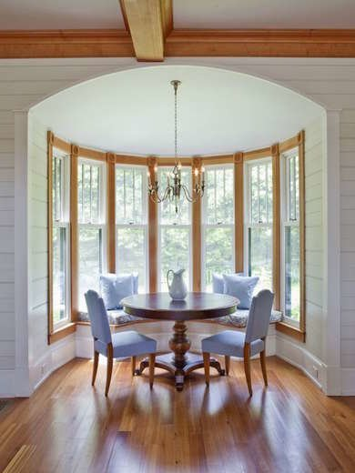 Arched Breakfast Nook