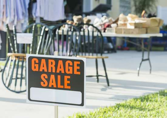 Will Stop for Garage Sales!