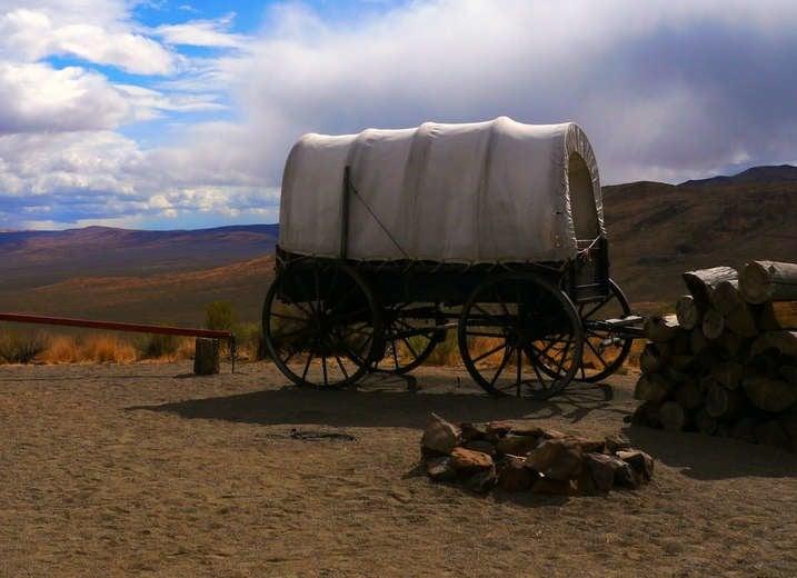 National Historic Oregon Trail Interpretive Center, near Baker City, Oregon