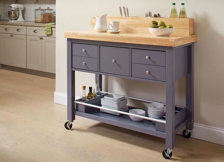 Kitchen Island With Casters