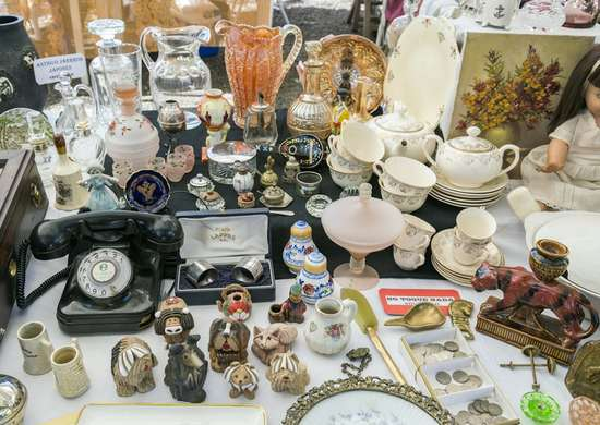 Yard Sale Antiques Collectibles