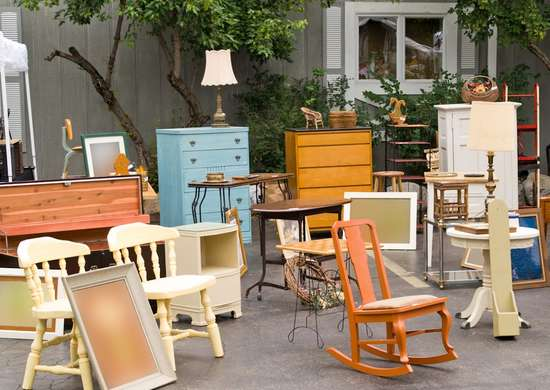 Yard Sale Furniture