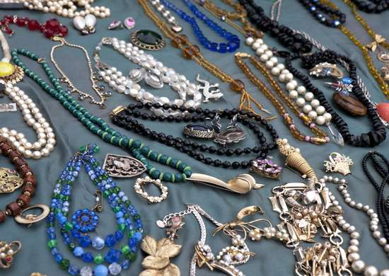 Garage Sale Costume Jewelry