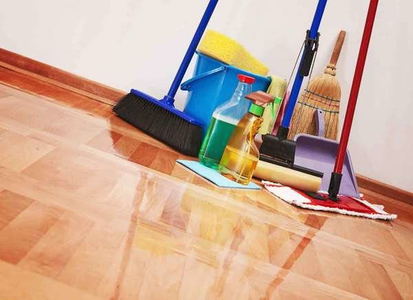 How to Clean a New House