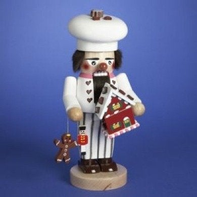 Linensnthings 11 authentic steinbach chubby gingerbread man nutcracker es1379