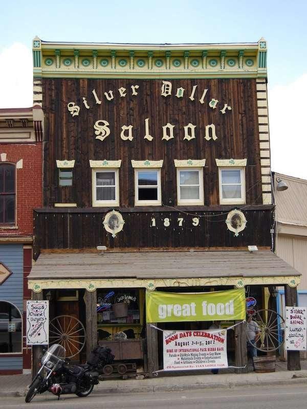 Silver Dollar Saloon in Leadville, Colorado