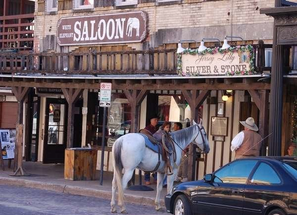 White Elephant Saloon in Fort Worth, Texas