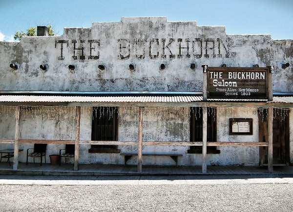 The Buckhorn Saloon in Pinos Altos, New Mexico