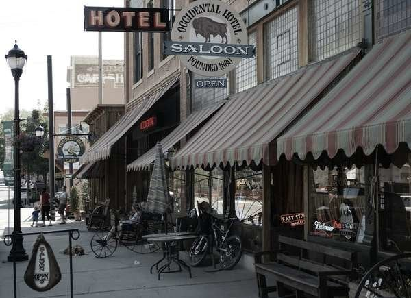 Occidental Saloon and Hotel in Buffalo, Wyoming