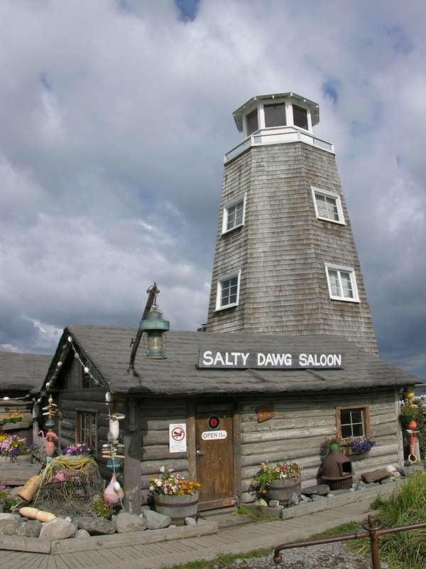 The Salty Dawg Saloon in Homer, Alaska