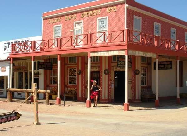 Crystal Palace Saloon in Tombstone, Arizona