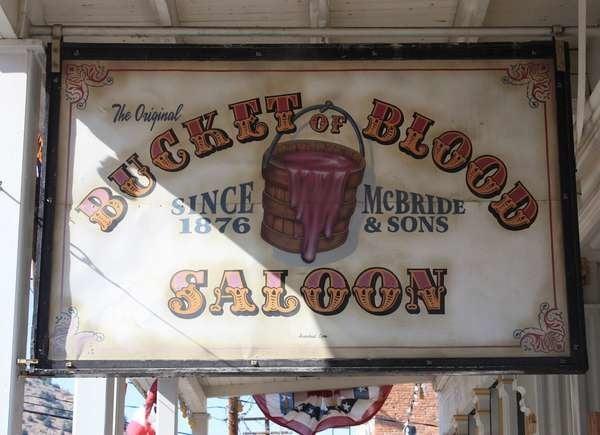 Bucket of Blood in Virginia City, Nevada