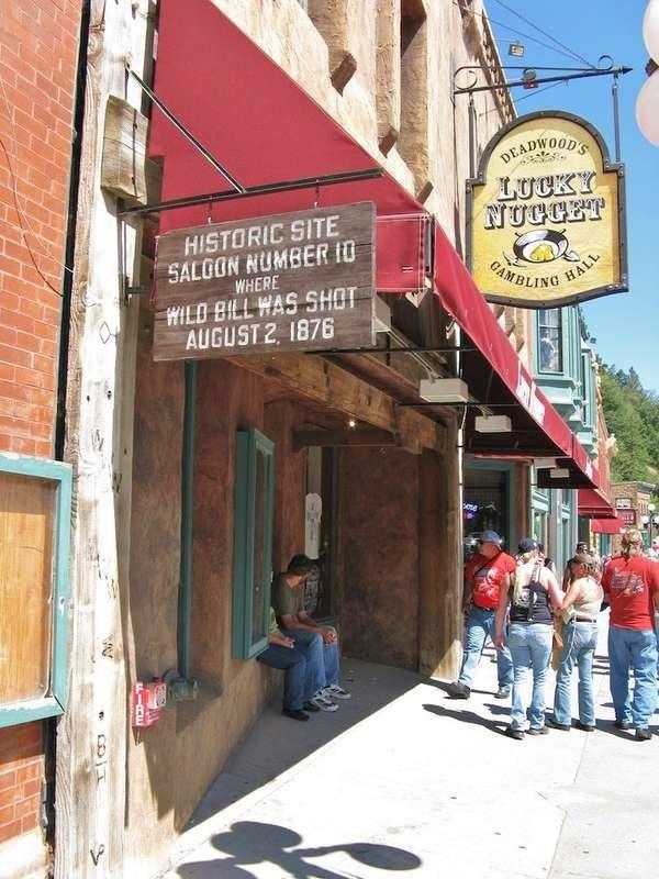 Old Style Saloon No. 10 in Deadwood, South Dakota