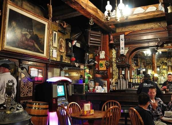 Inside the Silver Dollar Saloon