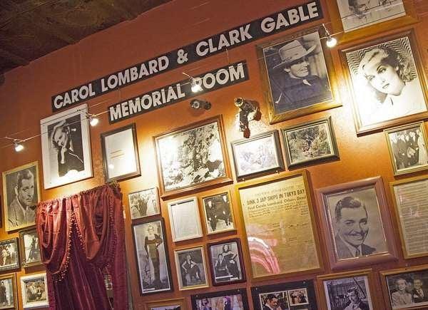 Carole Lombard Memorial at Pioneer Saloon