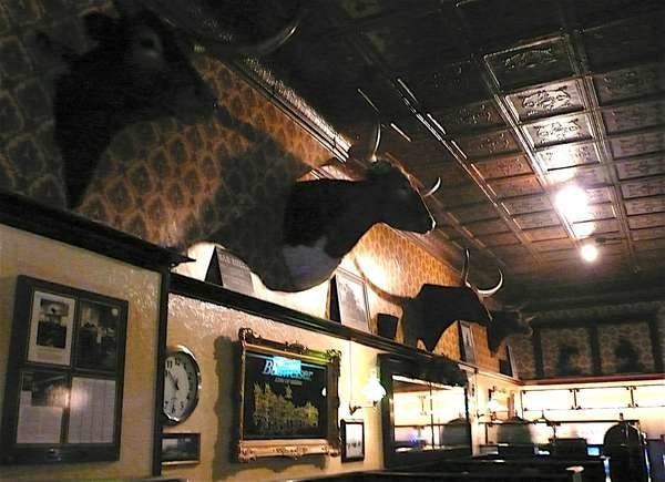 Inside the Historic Montana Bar