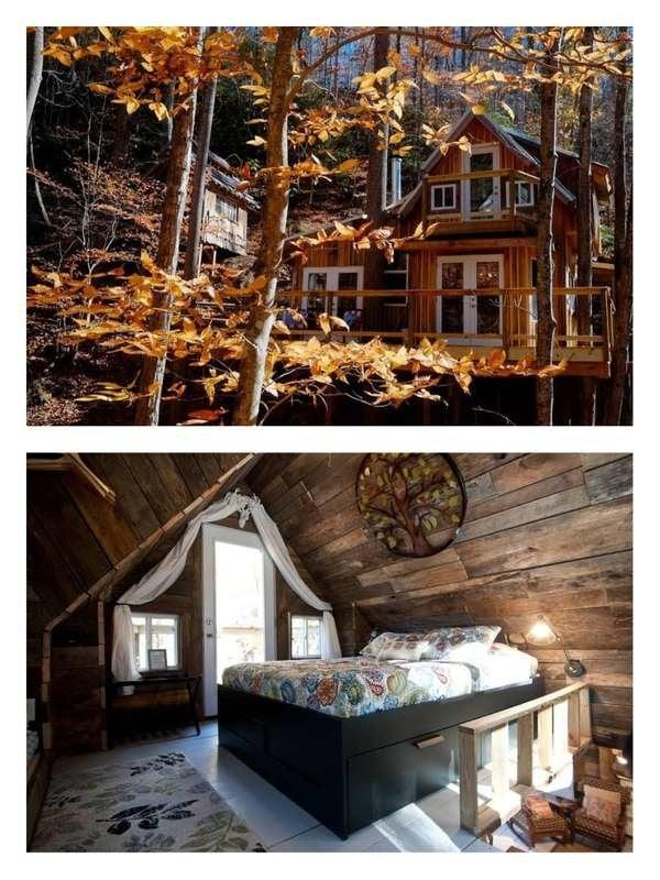 Sugar Creek Treehouse in North Carolina