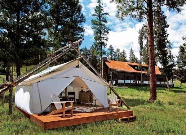 Montana Glamping at The Resort at Paws Up