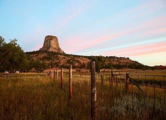 Devils Tower Camping